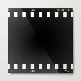 CUSHION OR PILLOW - FILM Metal Print