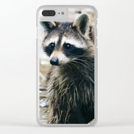 George Cooney Clear iPhone Case