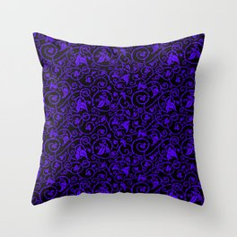 Medieval ornament Throw Pillow