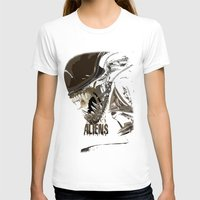 aliens T-shirts featuring Aliens by OzoneO3