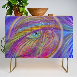 Guardian Angel with Feather Credenza