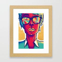 Unda Framed Art Print