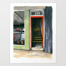 599 W. King St. Art Print