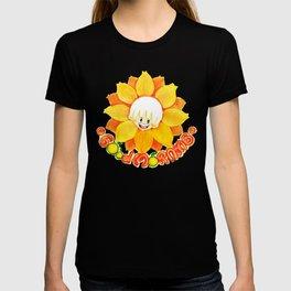 good morning sunflower boy T-shirt