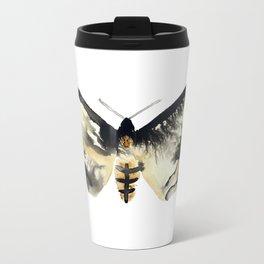 Death's Head Moth Travel Mug
