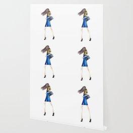 Blue Skirt Wallpaper