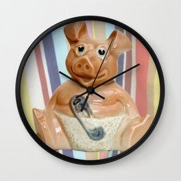 Nat West Piggy Bank Wall Clock