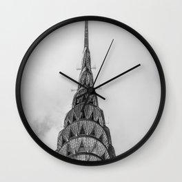 Chrysler Building New York USA Wall Clock