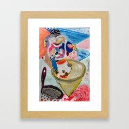 Peneira Framed Art Print