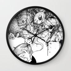 A Heavy Heart Wall Clock