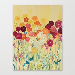 Summer Blooms Canvas Print