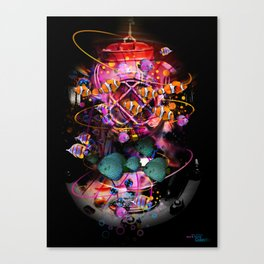 DiveDeeper Canvas Print