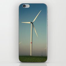 Windmills in the Sun iPhone & iPod Skin