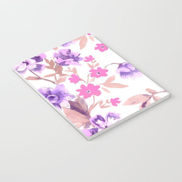 Garden Journal Purple Notebook