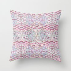 scales and dots Throw Pillow