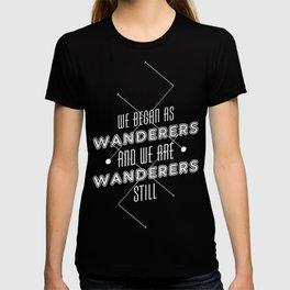 Wanderers - MSL/Curiosity Commemoration Print T-shirt