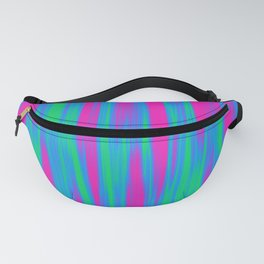 Polysexual Pride Vertically Flowing Light Fanny Pack