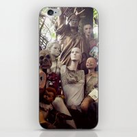 animal crew iPhone & iPod Skins featuring crew by SarahPerez