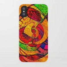 Tropical Farm 3 iPhone X Slim Case