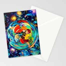 ocean bubble Stationery Cards