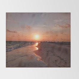 Siesta Key Sunset Throw Blanket