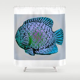 Sunfish Colors 4 Shower Curtain