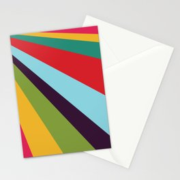 Bright Rays of Light - Circus Tent - Pride Beams - 57 Montgomery Ave Stationery Cards