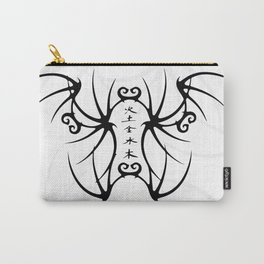 Ink and Line Carry-All Pouch