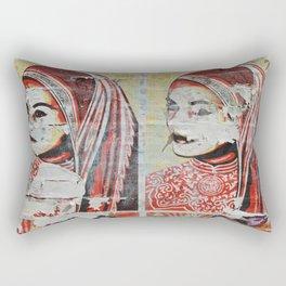 Wall Flower (Expanded) Rectangular Pillow