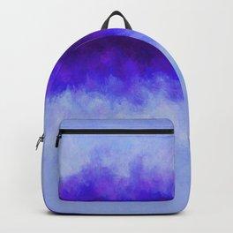 Soft Lavender Fields with Blue Violet Blaze Backpack