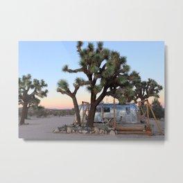 Airstream, Joshua Tree Acres 3 Metal Print