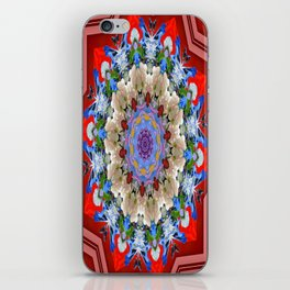 A urn with flowers iPhone Skin