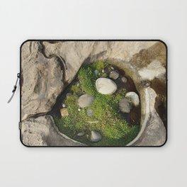 Rock puddle micro biosphere Laptop Sleeve