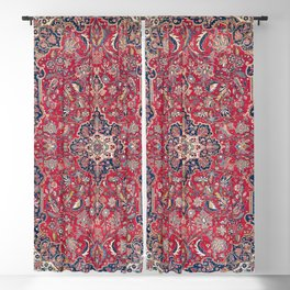 Bijar Kurdish Northwest Persian Rug Print Blackout Curtain