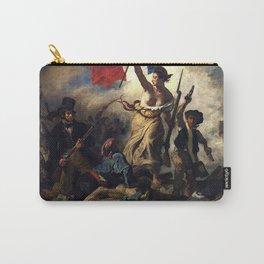 Eugène Delacroix - La liberté guidant le peuple Carry-All Pouch