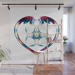 Smoke HeART 2 Wall Mural