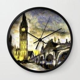 Westminster Van gogh Wall Clock