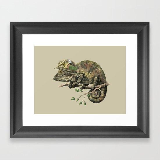 Born to Hide  Framed Art Print