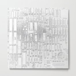 Robot People   (A7 B0019) Metal Print