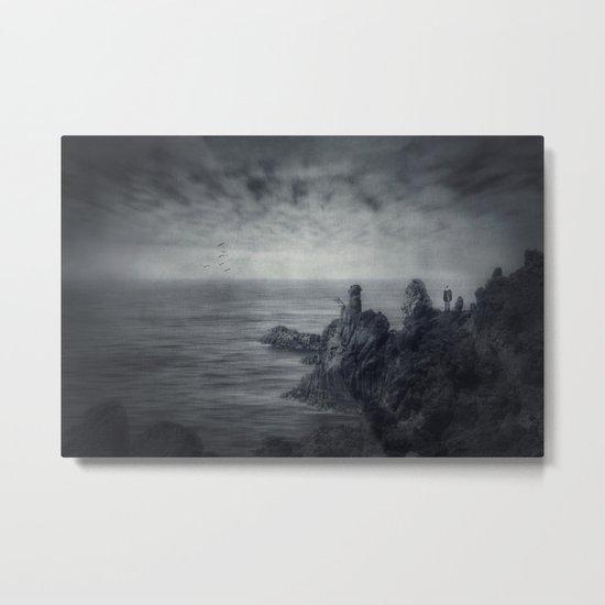 Lava.Sea Metal Print