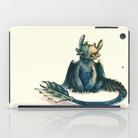 tote iPad Cases featuring Toothless by Alice X. Zhang