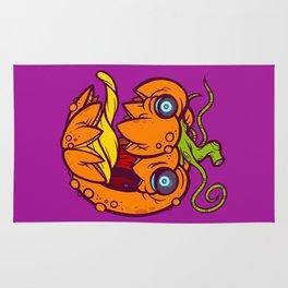 Lil' Bad Pumpkin Rug