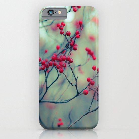 Winter Berries iPhone & iPod Case