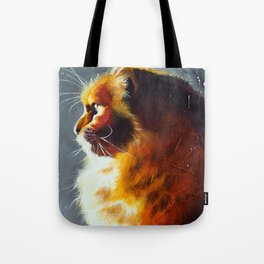 Animal - Gambo the intrepid cat - by LiliFlore Tote Bag