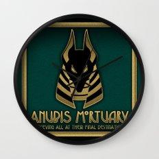 Anubis Mortuary Wall Clock