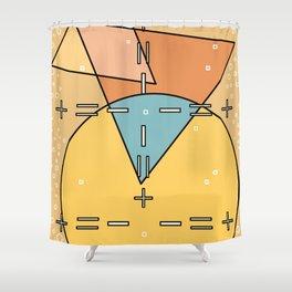 Bauhaus Less is More Shower Curtain