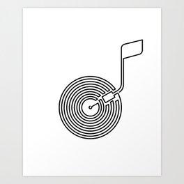 Long Play Art Print