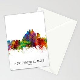Monterosso al Mare Italy Skyline Stationery Cards