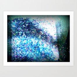 Glitter Ooooh Shiny!  Art Print