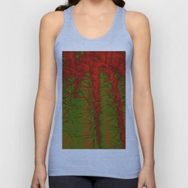 Cacti Abstract II Unisex Tank Top